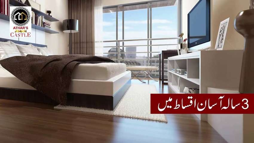 825 Sq Ft 2 Bed Apartment Available In Bahria Town 0