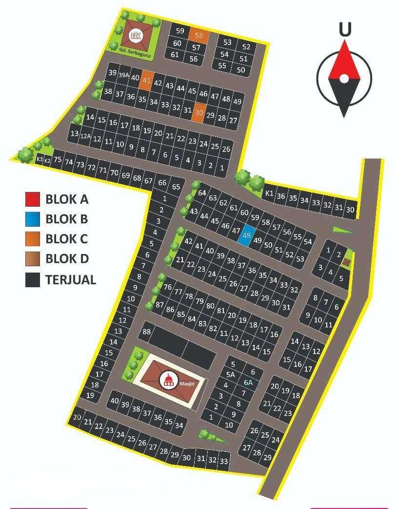 Rumah Subsidi Bangunjiwo Kasihan Bantul Cicilan Mulai dr 800 rb-an! 0