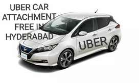 UBER CAR ATTACHMENT FREE IN HYDERABAD