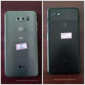 Lg v30 plus and Google pixel 2 xl excellent condition