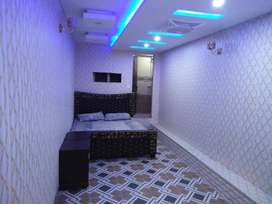 2 Furnished Rooms is available for Rent in Reasonable Price
