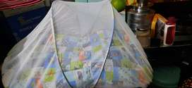 kids baby BED cum maquito net cover