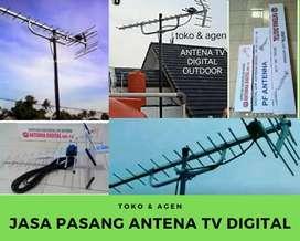 Jasa Instalasi Pasang sinyal Antena Tv Digital