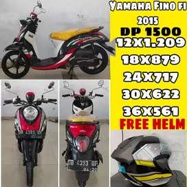 Yamaha Fino FiSporty 2015 ( Bisa Kredit)