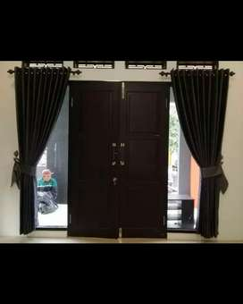 Gorden Gordyn Korden Gordeng Hordeng Vitrase Curtain Minimalis 395
