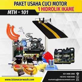 """PAKET CUCI MOTOR """"1 HIDROLIK"""" MTH-101, Cocok Untuk Usaha Cucian Anda"""