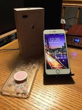 Best model Apple i phone 8 plus 64 gb in multiple color and full kit.