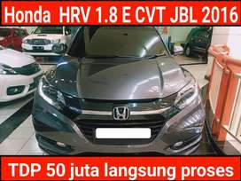 Honda hrv 1.8 E CVT JBL automatic /at 2016 kondisi  mulus terawat
