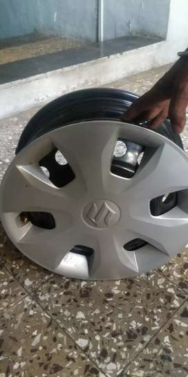 New wagnor wheel rims with cap