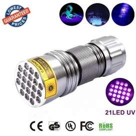 TaffLED Senter Ultraviolet 400nm 21 LED - UV-21