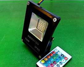Lampu Sorot RGB LED 10 Watt