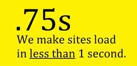 Fastest Ecommerce & Web Development Company. Google rating 98/100.