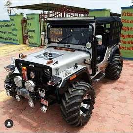 Stylish jeep with all powers