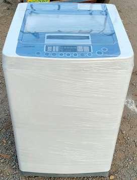 Blue LG Turbodrum Fully Automatic Washing Machine
