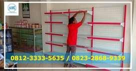 Menjual Aneka Rak Minimarket / supermarket samarinda