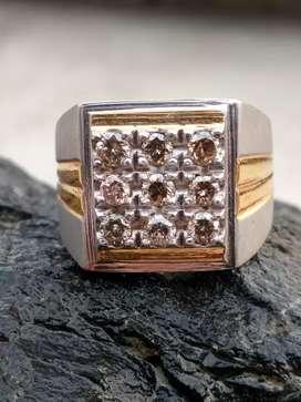 Berlian mewah asli