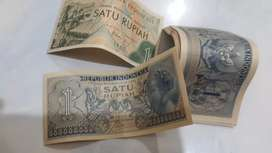 Uang kuno kertas Rp.1