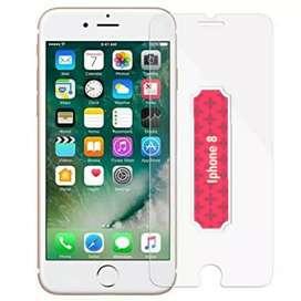 Premium Tempered glass Asli Kaca Full Transparan Iphone 5/6/7/8/X/XS