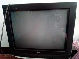 21inches LG TV with dish antenna videocon