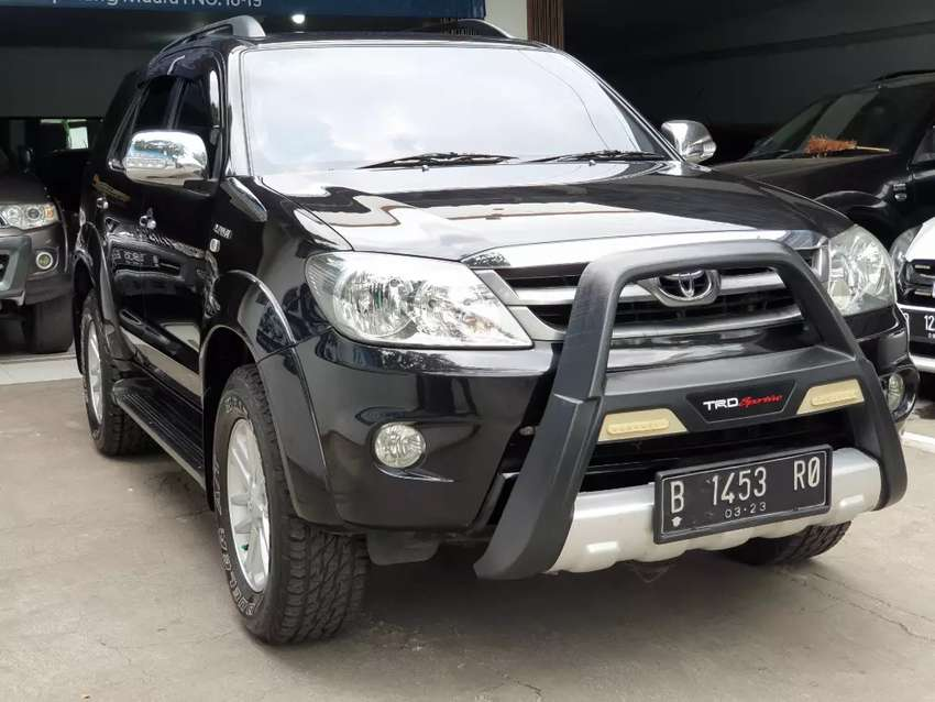 Toyota Fortuner G Lux AT Thn 2008 Bensin Good Condition 0