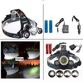 Head light chargeable and sale best quality