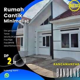 Rumah Cantik Minimalis Di Dekat Kota Bandung.