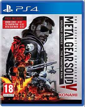 PS4 METAL GEAR SOLID V [ MGS-V ]  DEFINITIVE EDITION