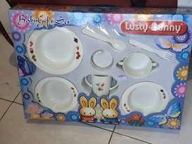 Set alat makan bayi Lusty Bunny