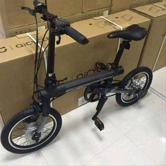 Sepeda Lipat Listrik  Qicycle 0