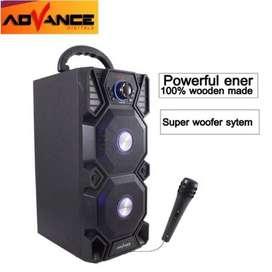 COD Advance Speaker H501 Bluetooth Mic Advance Portable USB Radio