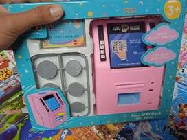 Mainan anak atmmesin baru cod gosend bisa kaka