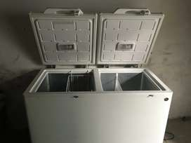 PELL deep freezer look like new no more use 35000 Rs
