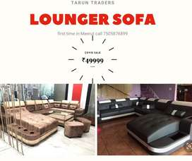 Brand new sofa with lounger