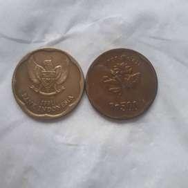 uang kuno. 500 perak bunga melati th 1991