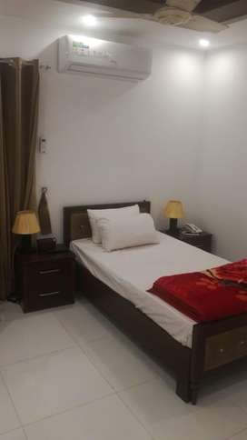 Bed room for rent daily weekly monthly fully furnished in Dha nearst
