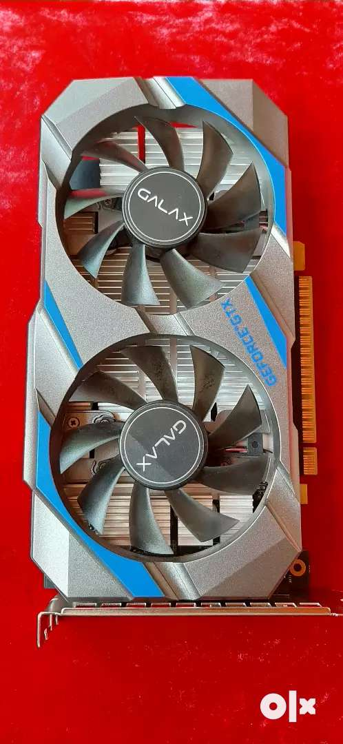 Galax Nvidia GTX and 1050 Ti Graphics card, 2020 Model. 0