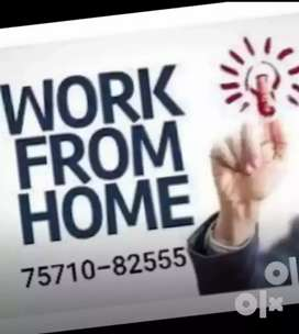 Hand full of income from home by part time work