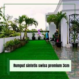 Rumput sintetis swiss premium berkualitas