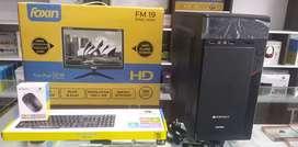 "OFFER! New Desktop -4GB,500GB,19""LED(1yr.)11800"