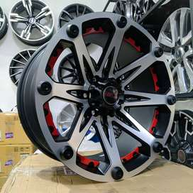 VELG MOBIL RACING HSR TYPE KLEAK RING 20 BUAT RANGER, STRADA TRITON