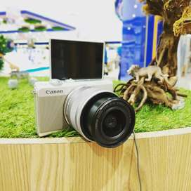 Canon M100 Promo Kredit DP 600rb Bunga Bisa 0%