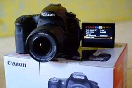 Canon 60D + Lensa 18-55 kit ll Usm.