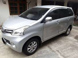 Toyota Avanza Silver 2013 type G Matic 1300