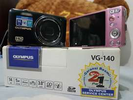 OLYMPUS VG-140 Kamera Poket Smart DIGITAL( BARU ) MURAH, dapat HADIAH