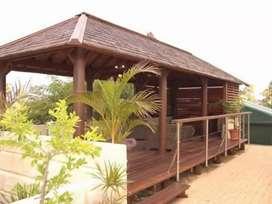 Jual gazebo kelapa for resort