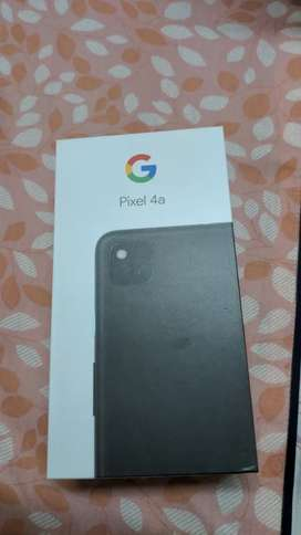 Google pixel 4a, just 90 days old with original box and contents