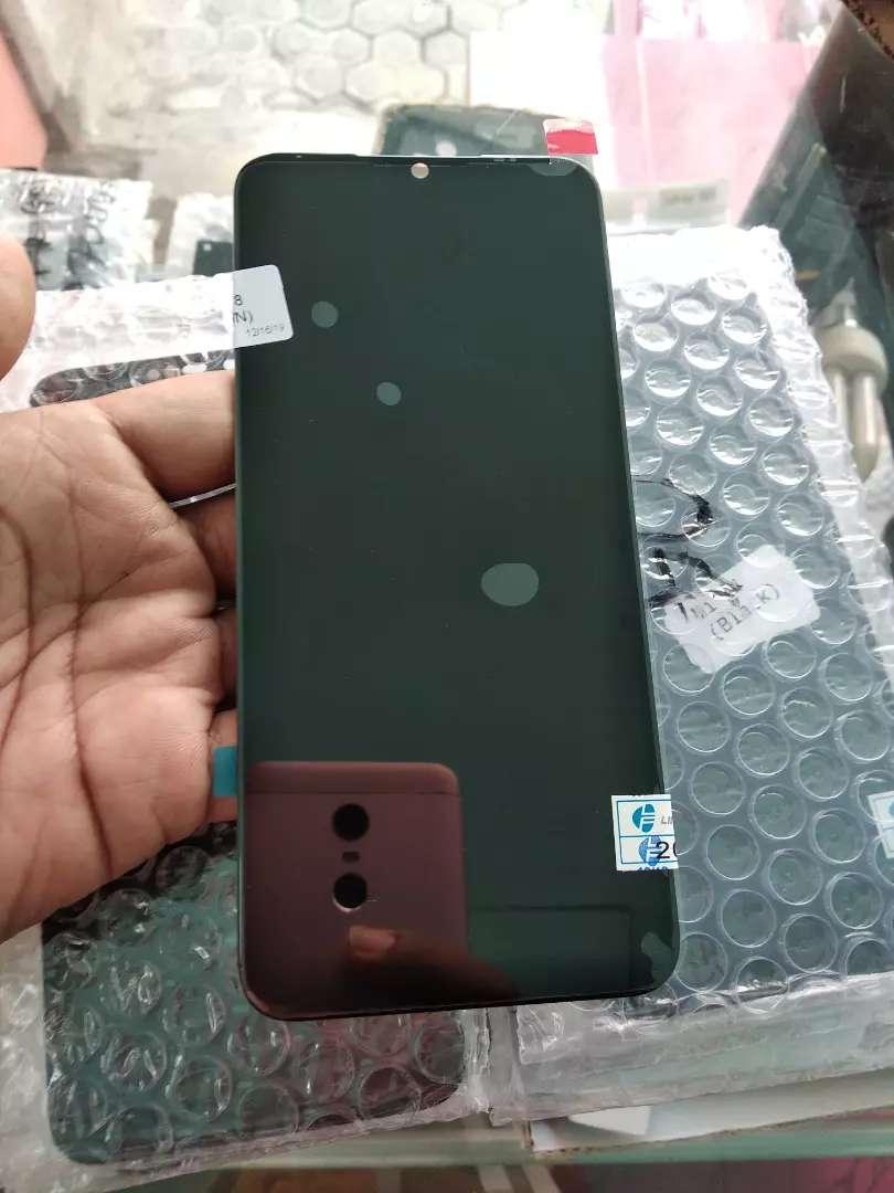Lcd touchscreen Xiaomi redmi note 8 sekalian pasang