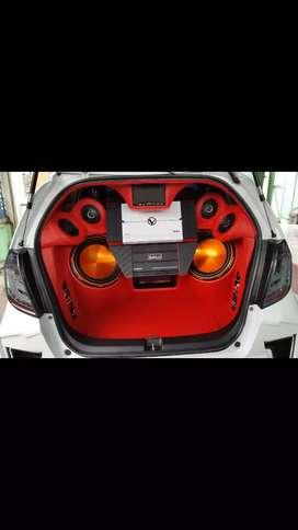 Audio Honda Jazz RS 2011 - 2013