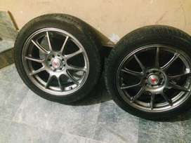 17 inch rim with tyre
