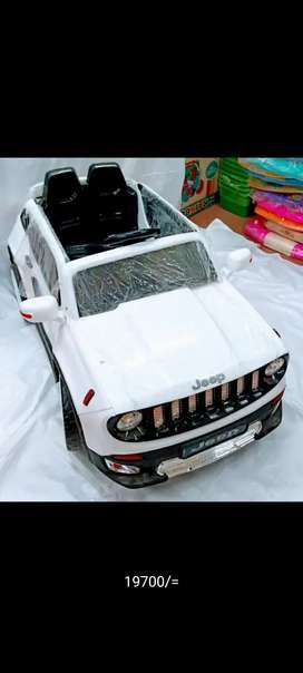 We deals in all kinds of battery operated cars and bikes are available
